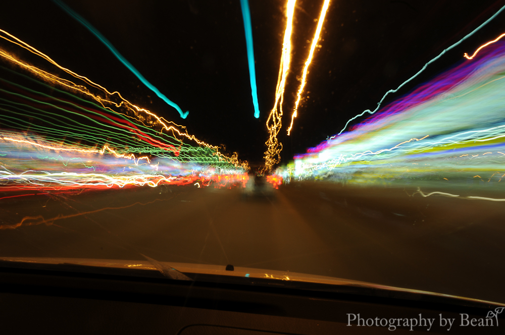 Night time driving without adornment - Licht nightclub ...