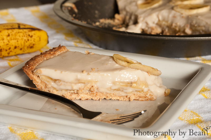Mr. Bean has always been on my case to make a banana cream pie, ...