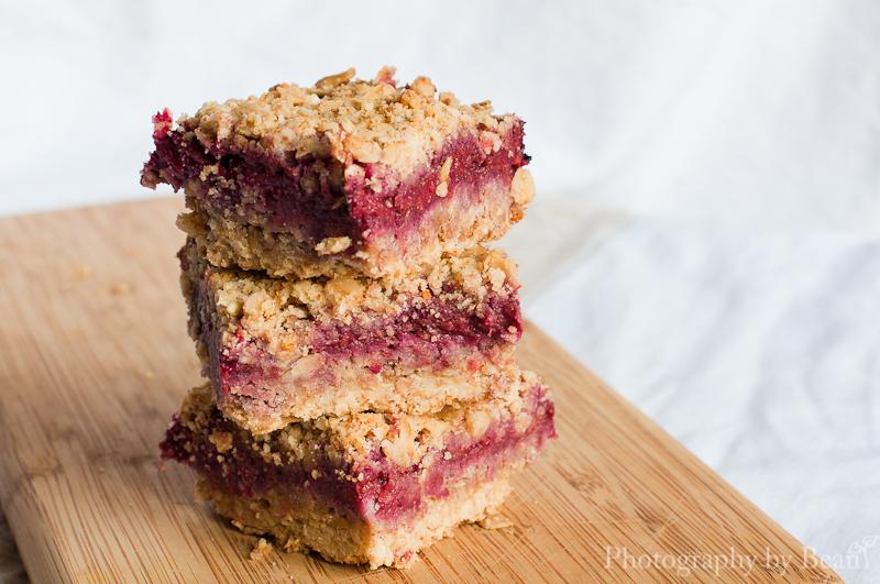 Vegan Raspberry Streusel Bars Recipe — Dishmaps