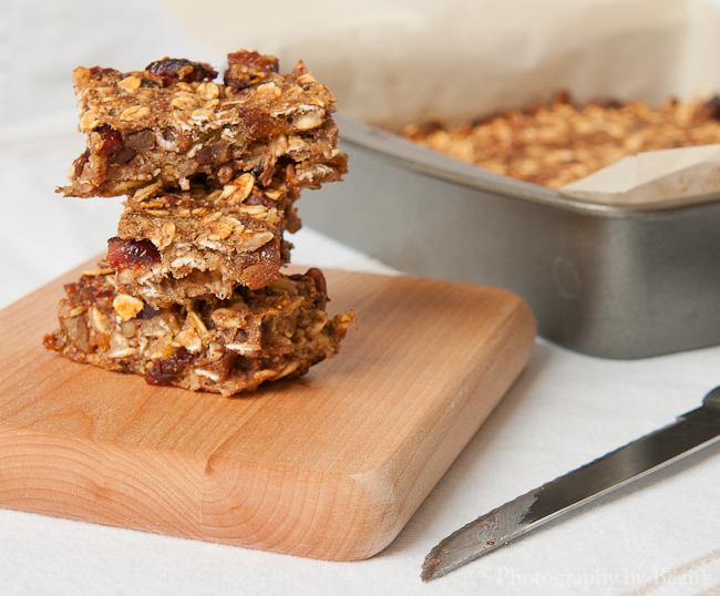 Healthy home made granola