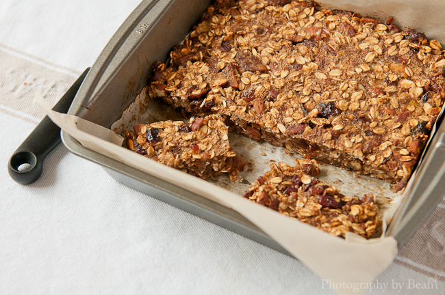 ... Low Fat Granola Bars with Bananas, Cranberries and Pecans | Without