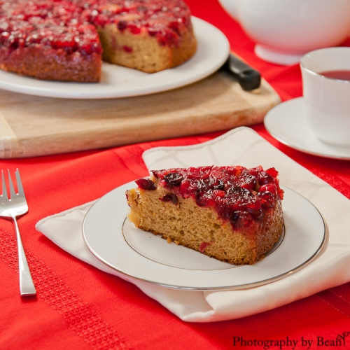 GF Cranberry Upsidedown Cake-1