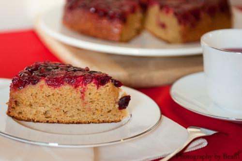 GF Cranberry Upsidedown Cake-2