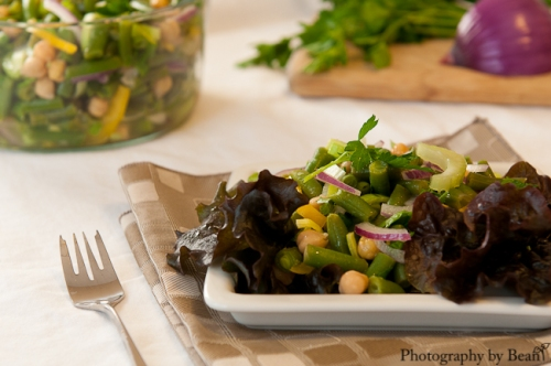 My Judy the Foodie-Bean Salad-1