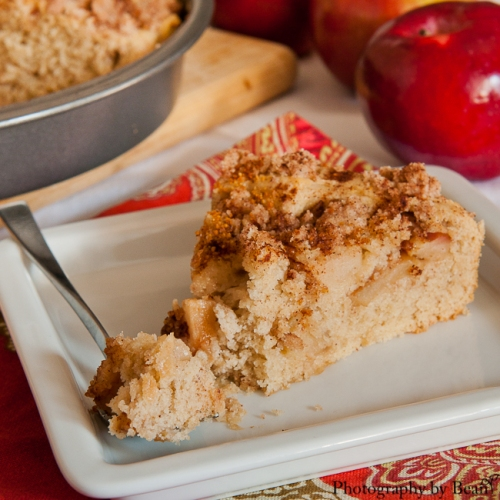 Chocolate and Chilies Apple Cake-4