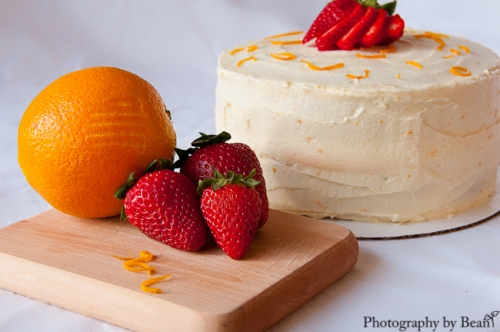Lavender and Lovage Orange Cake-1