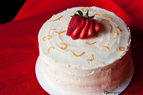 Lavender and Lovage Orange Cake-3