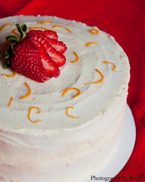 Lavender and Lovage Orange Cake-4