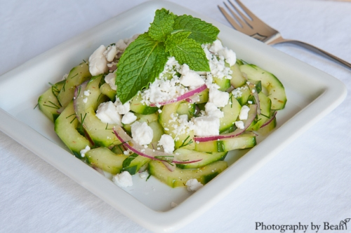 A Healthy Jalepeno Herb Cucumber Salad-1