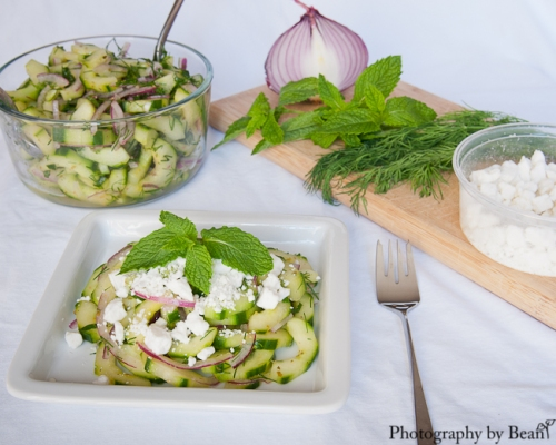 A Healthy Jalepeno Herb Cucumber Salad-2