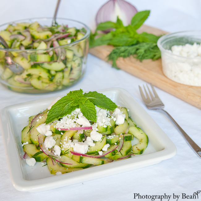 A Healthy Jalepeno Herb Cucumber Salad-3