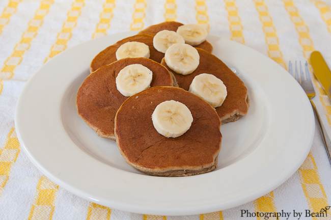 Angels Homestead GF Peanut Butter Banana Pancakes-1
