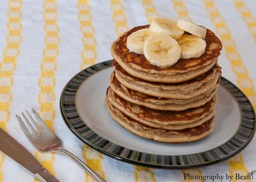 Angels Homestead GF Peanut Butter Banana Pancakes-2