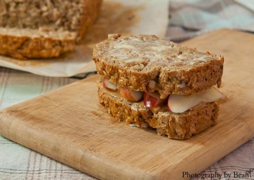 Life&Kitchen Banana Oatmeal Bread-6