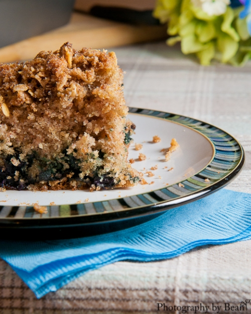 Turnips 2 Tangerines Blueberry Coffee Cake-3