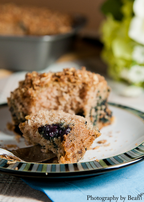 ... Tangerine's Blueberry Spice Streusel Coffee Cake | Without Adornment