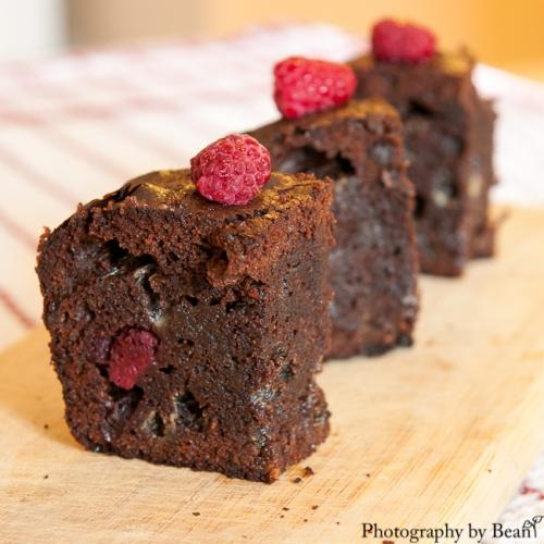 CCouscous & consciousness Raspberry Brownies-4