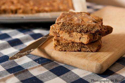 Spiffy Cookie Apple Peanut Bars-6