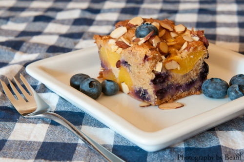 Life on Food Peach and Blueberry Buckle-2