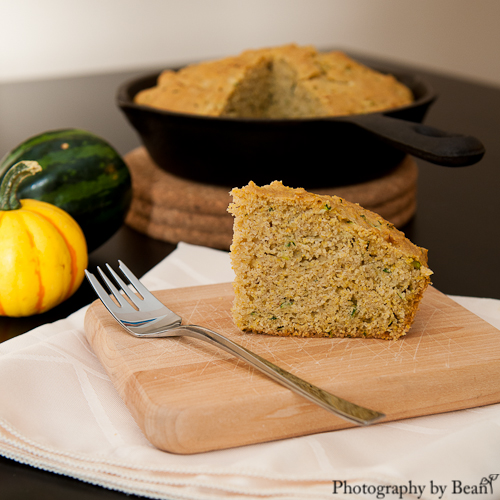 Baking and Creating with Avril Zucchini Cornbread-2