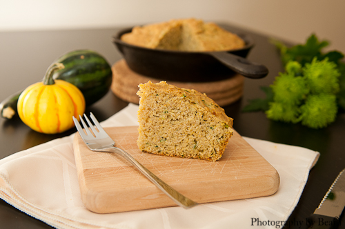 Baking and Creating with Avril Zucchini Cornbread-3
