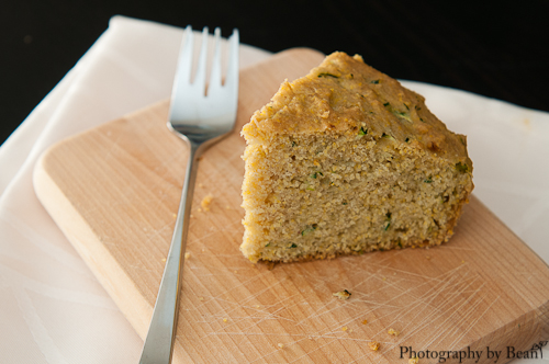 Baking and Creating with Avril Zucchini Cornbread-5