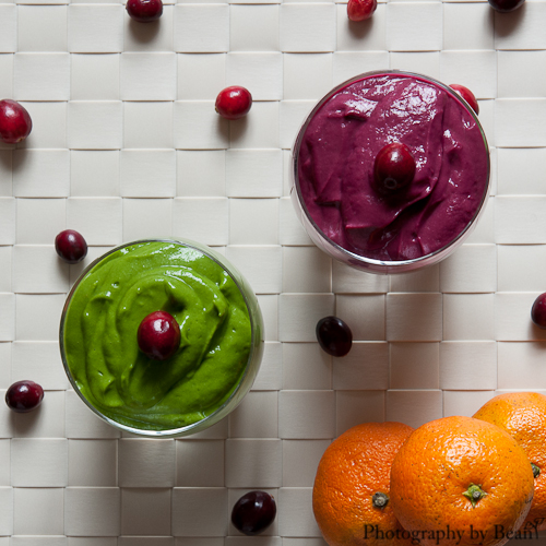 Festive Green Smoothie Puddings-2