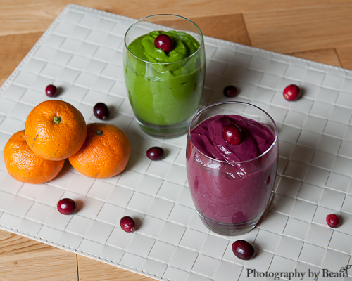 Festive Green Smoothie Puddings-3