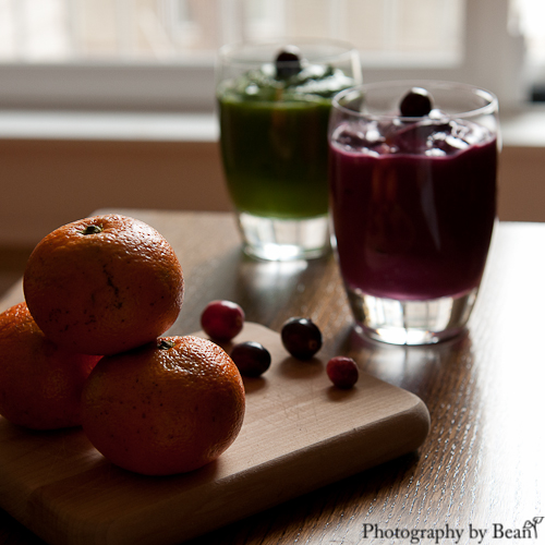 Festive Green Smoothie Puddings-4