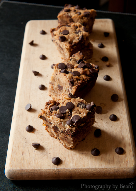 Fantastic Sharing Chocolate Peanut Butter Oatmeal Cookie Bars-3